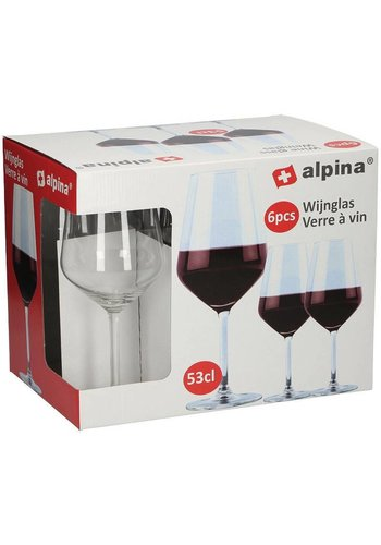 Alpina Wijnglas - 53cl - 6 stuks