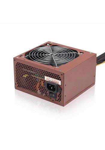 Gembird PC Voeding, 500W ATX/BTX, actieve PFC, 12 cm