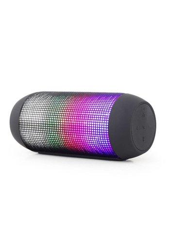 Gembird Bluetooth-Lautsprecher mit LED-Lichteffekten, schwarz