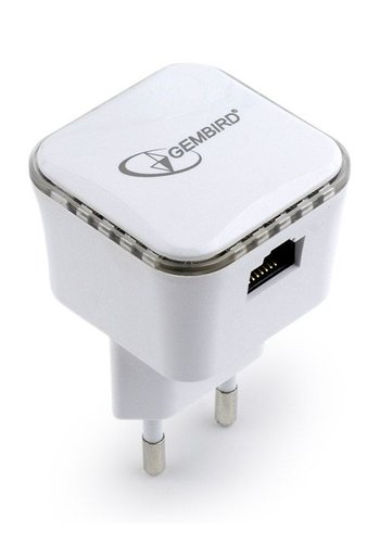 Gembird WiFi repeater 300Mbps, wit