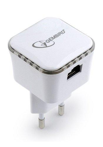 Gembird WLAN-Repeater 300 MBit / s, weiß