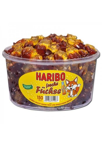 Haribo Cheeky Foxes Candy 150 Pièces