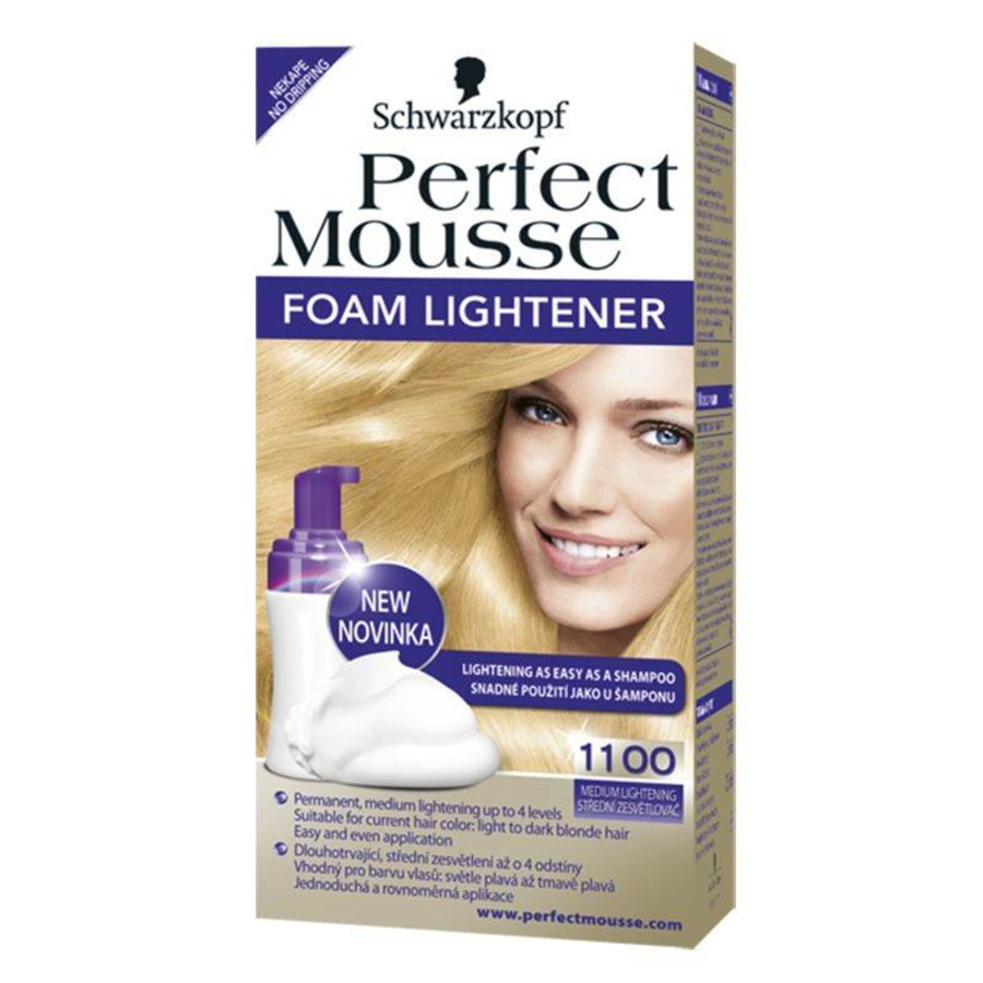 Permanent - medium blond - schuim pompje