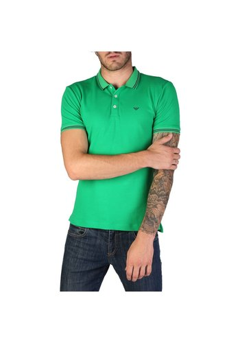 Emporio Armani Heren Polo Shirt Emporio Armani 8N1F30