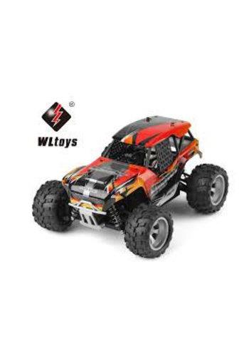 """RC Elektro  RC Monster Truck électrique 1:18 avec 2,4 Ghz, Quatre roues motrices """"WL 8404"""" de WL Toys"""
