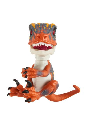 Fingerlings Ungezähmte Baby Raptor Blaze - orange Dino