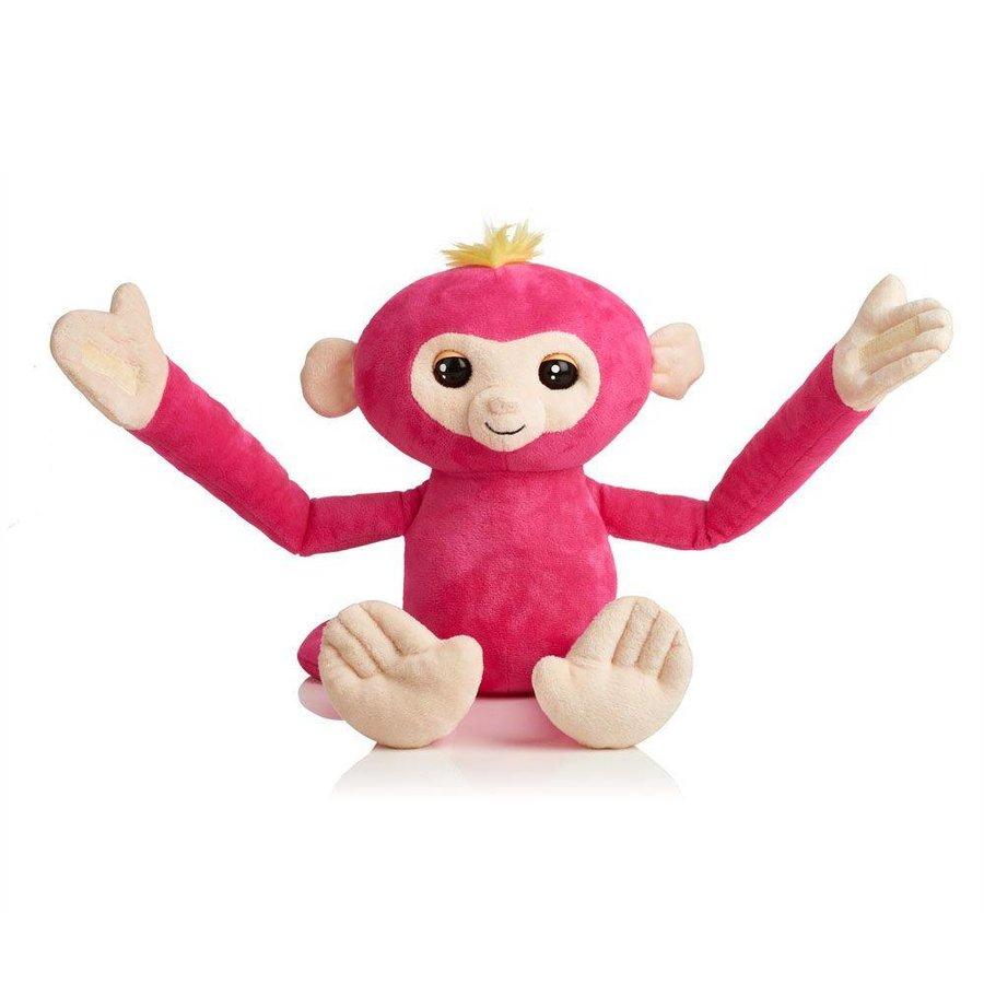 Peluche de singe interactive - 40 cm