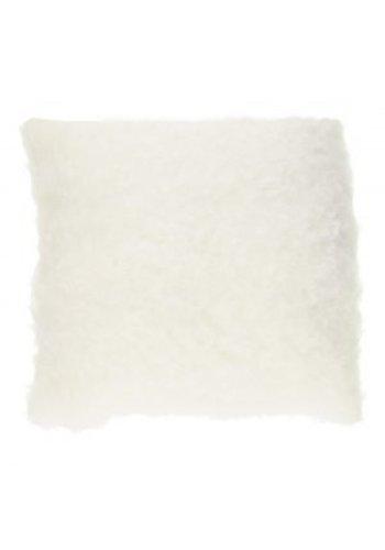 Neckermann Coussin Curly - blanc - 40 cm