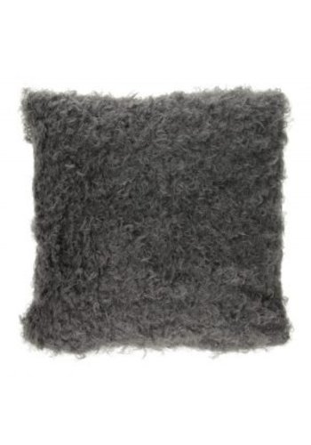 Neckermann Geschweifte Kissen - grau - 40 cm