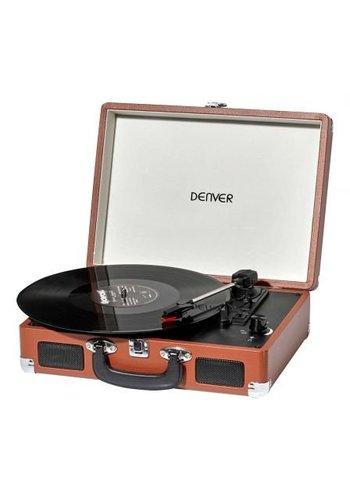 Denver Electronics Platine Vinyle VPL-120 Marron
