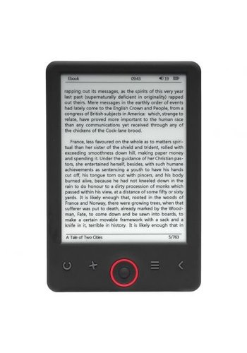 "Denver Electronics E-Book-Reader EBO-620 mit 6 ""E-INK-Panel"
