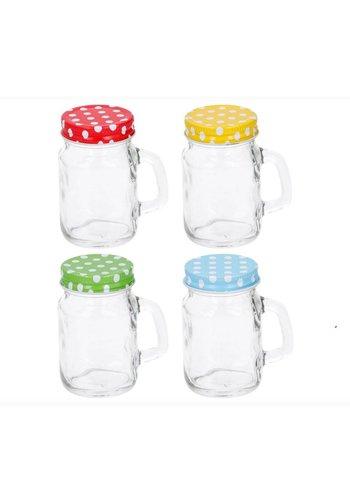 Neckermann Drinkglas met deksel - 120ml