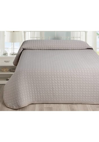 Nightsrest Nightsrest Bedsprei Lucia - Taupe Maat:
