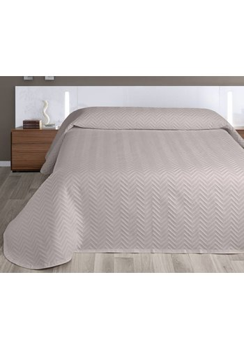 Nightsrest Nightsrest Bedsprei Zaria - Taupe Maat: