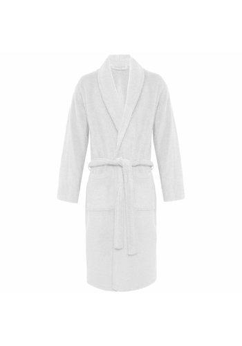 VIP Bathroom Peignoir Vip Terry avec col châle - Taille unique - Blanc