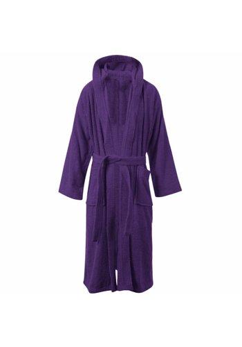 VIP Bathroom Peignoir Vip Terry avec col châle - Taille unique - Violet