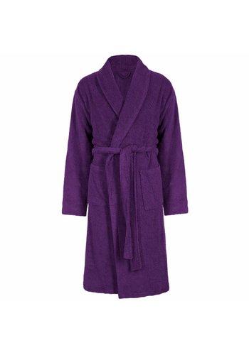 VIP Bathroom Peignoir Vip Velour avec col châle - Taille unique - Violet