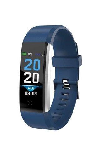 Denver Electronics BFH-16 Blue Fitnessband avec moniteur de fréquence cardiaque