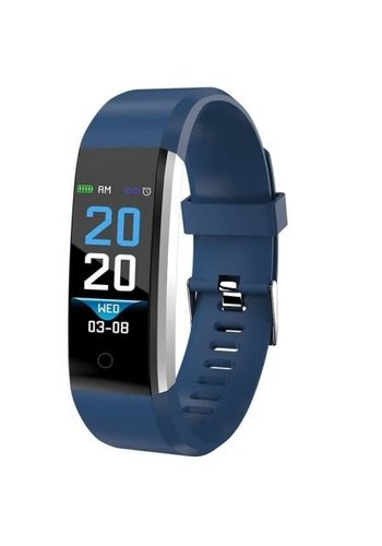 Denver Electronics Blue Fitnessband B FH-16 met hartslagmeter
