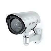 Caméra de sécurité extérieure factice 'Bullet'