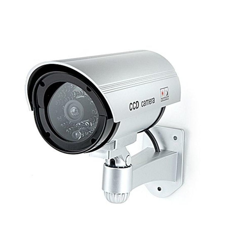 Dummy outdoor beveiligingscamera 'Bullet'
