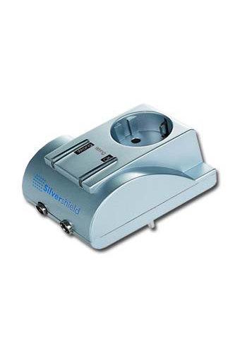 Gembird Mini-Silver shield TV surge protection