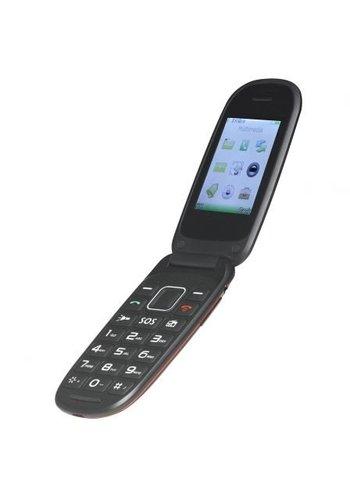 Denver Electronics Téléphone portable pour personnes âgées BAS-24100M