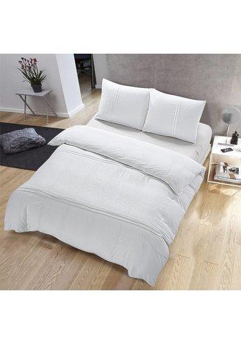 The Luxury Home Collection La Collection Maison de Luxe Palermo 140x200 / 220 + 1-60X70 cm Blanc