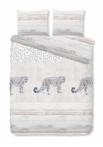 House of Dreams Bettbezug Leopard - Grau Größe: 1-Person 140x200 / 220cm + 1 Kopfkissenbezug