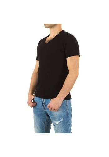 Neckermann Herren Shirt von Y.Two Jeans - black
