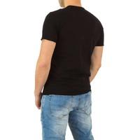 Heren Overhemd Zwart.Heren Overhemd Van Y Two Jeans Zwart Neckermann Com