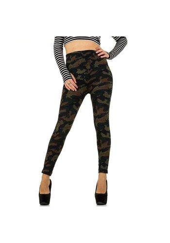 Best Fashion Damen Leggings von Best Fashion Gr. one size - camouflage
