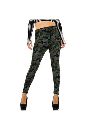 Best Fashion Damen Leggings von Best Fashion Gr. one size - armygreen