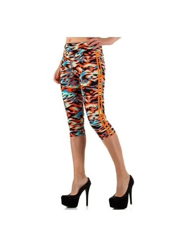 Best Fashion Damen Leggings von Best Fashion - orange
