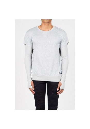 SIXTH JUNE Herren Sweatshirt von Sixth June  - grey