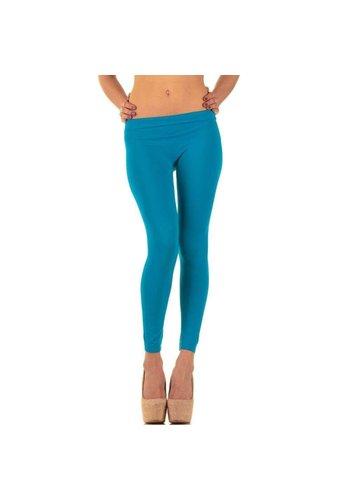 Neckermann Damen Leggings Gr. one size - blue