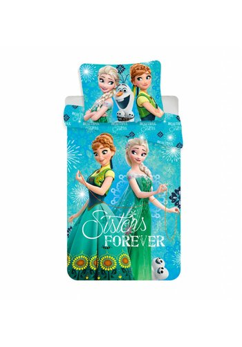 Disney Dekbedovertrek  Sisters Forever 140 x 200