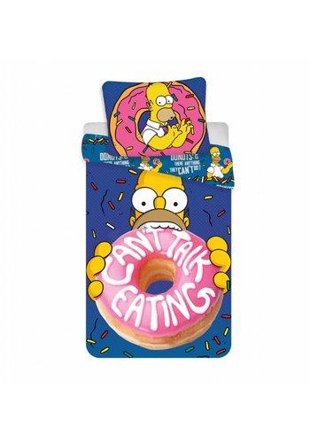Disney Dekbedovertrek Licentie Simpsons Homer Donut 140 x 200