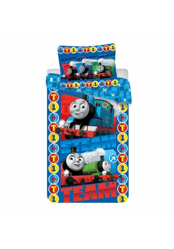 HiT Entertainment Dekbedovertrek Licentie Thomas Trein Steam Team 140 x 200