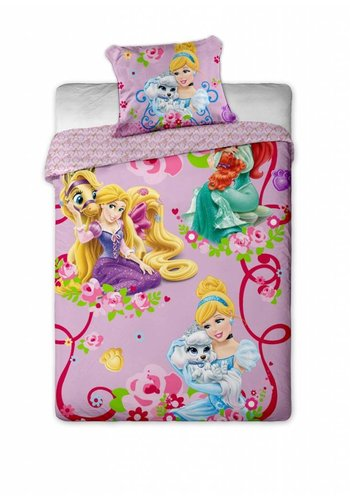 Disney Bettbezug License Princesses Pets 140 x 200