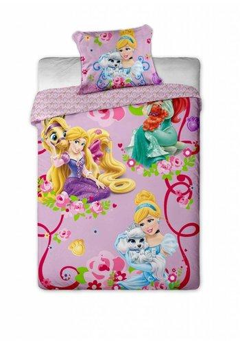 Disney Dekbedovertrek Licentie Princesses Pets 140 x 200