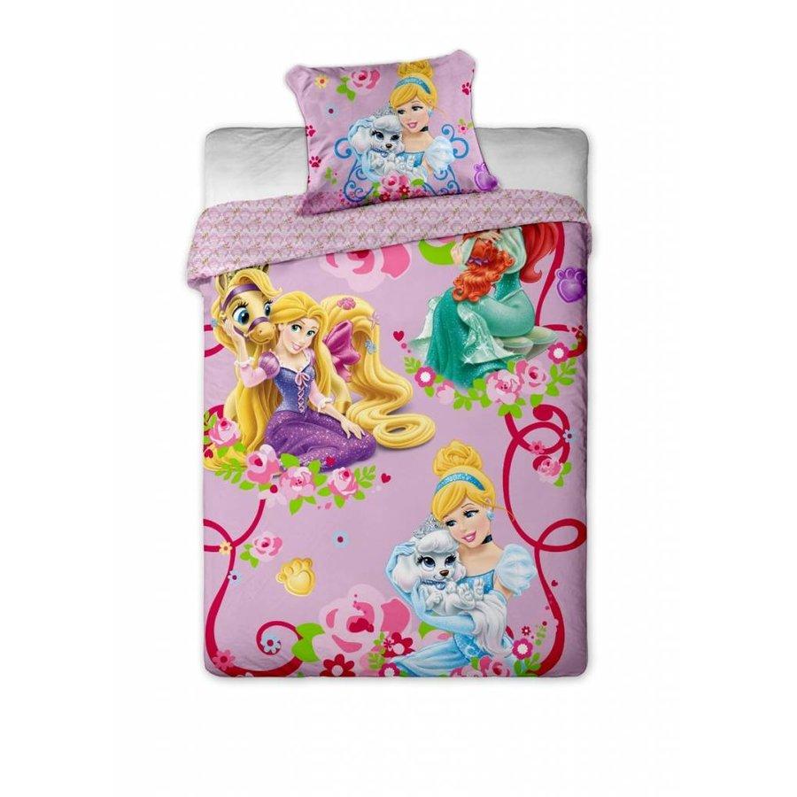 Enveloppe de couette Licence Princesses Pets 140 x 200