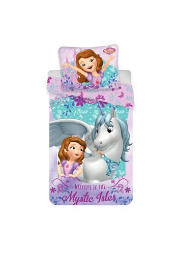 Disney Dekbedovertrek Licentie Sofia The First Unicorn 140 x 200