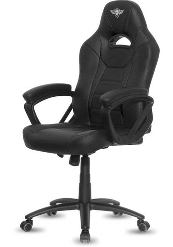 Spirit of Gamer Fighter Gaming Chair - Schwarz