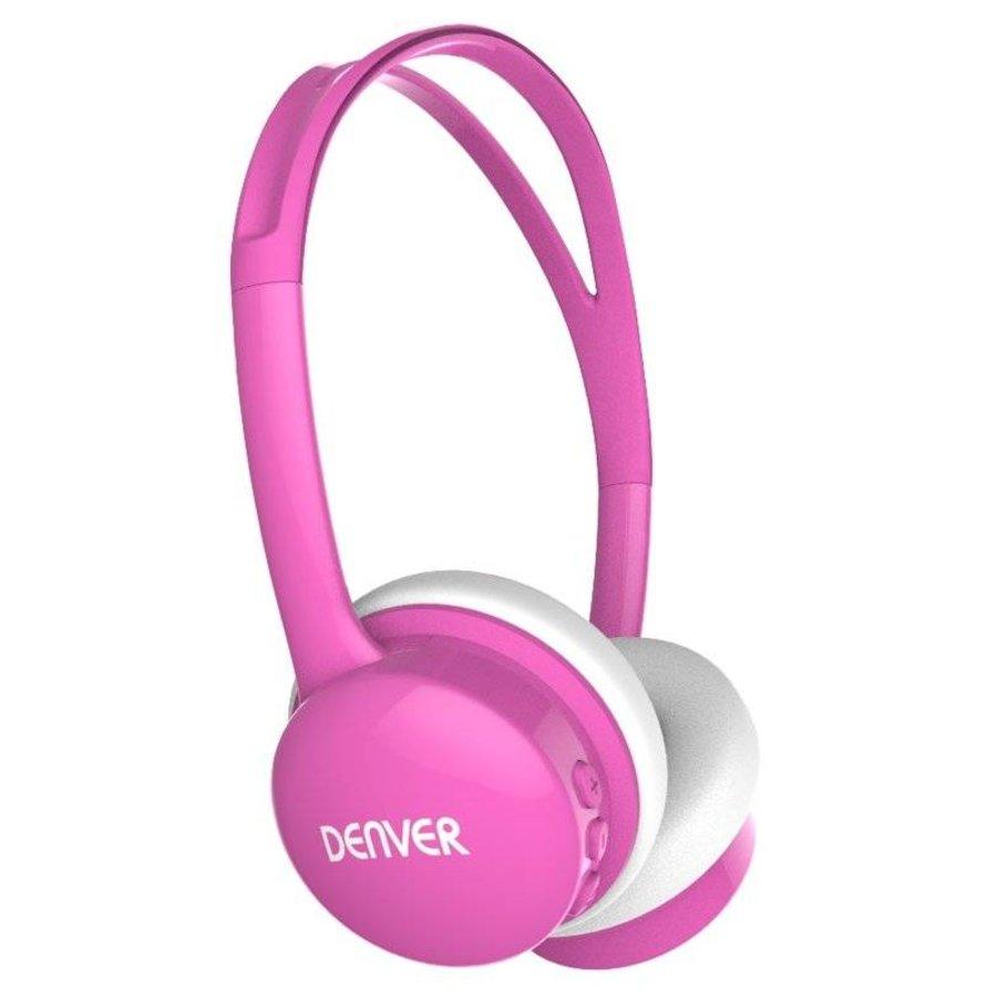 Kinderkopfhörer mit Lautstärkebegrenzung pink