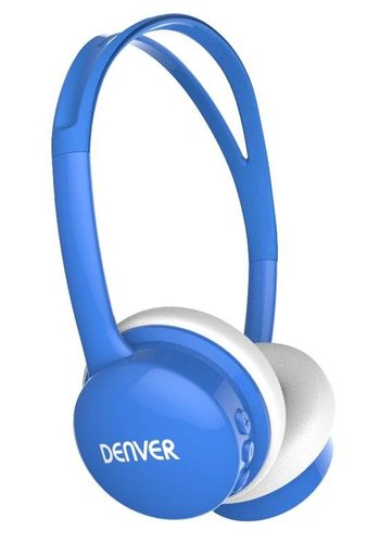 Denver Electronics casque enfant avec limites de volume bleu
