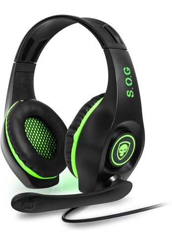 Spirit of Gamer Pro-XH5 XBOX One-Gaming-Headset - Grün