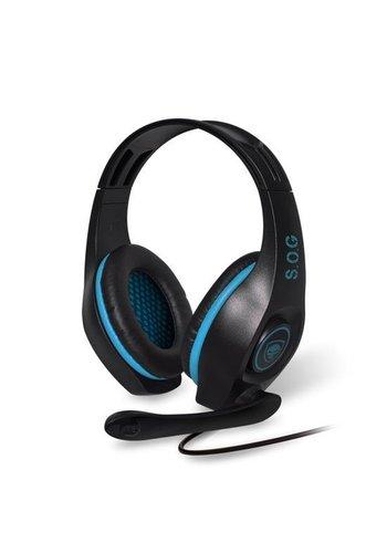 Spirit of Gamer Pro-H5 PC Gaming Headset - Blauw