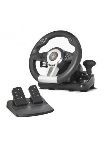 Spirit of Gamer Pro Race Stuur - PC - PS3 - Zwart