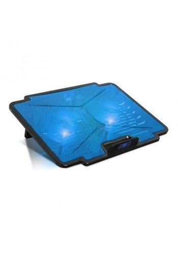 Spirit of Gamer Coussin de refroidissement pour ordinateur portable - Bleu - Cooler Blade 100 - jusqu'à 15,6 pouces